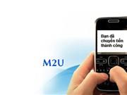 Mobifone Dịch vụ chuyển tiền M2U