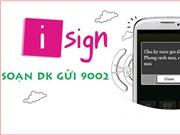 Đăng ký dịch vụ chữ ký cuộc gọi iSign Viettel