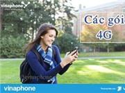 Vinaphone Bảng giá cước 4G Rẻ Nhất