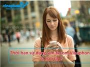 Vinaphone Hạn sử dụng của sim EZcom và các gói ezcom