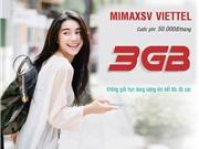 Viettel Đăng ký gói cước 3G sinh viên có ngay 3GB giá ưu đãi 50.000đ