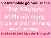 Vietnamobile gói Siêu thánh - Lh mua sim và chọn số đẹp