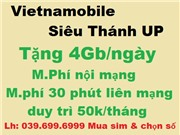 Sim Vietnamobile 092 Đuôi 86.68.66,88,99 giá 150k (V150)